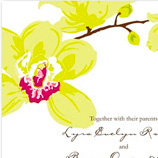 Favourite Orchid Wedding Invitations