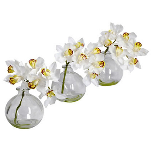 Orchid wedding centerpieces for weddings with an theme