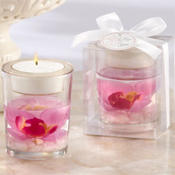 Orchid Tealight Holder Favors