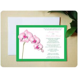 Orchid Delight Wedding Invitations