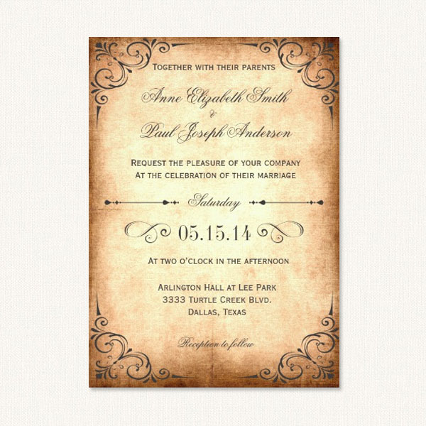 Rustic Wedding Invitations Country Theme With Barn Wood Florals Jars